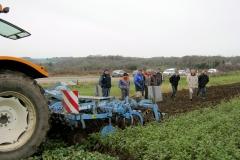 Destruction de couverts végétaux à Plounéour Ménez