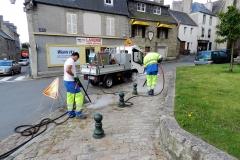 Désherbage à vapeur - Saint Pol de Léon